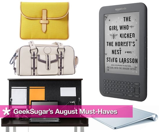 August Gadget Must-Haves