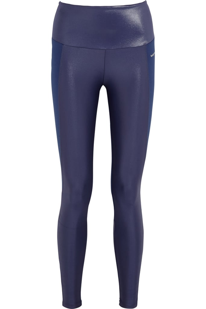 Bodyism I Am Shiny paneled stretch-jersey leggings ($145)