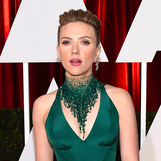 Scarlett Johansson Oscars Red Carpet Interview 2015 | Video