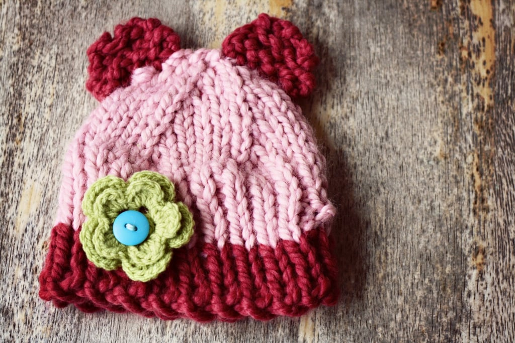 Ears to You My Love Hand Knit Hat