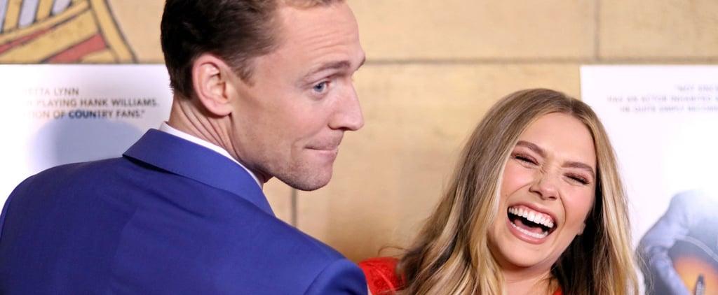 Tom Hiddleston and Elizabeth Olsen Spend a Delightfully Goofy Night on the Red Carpet