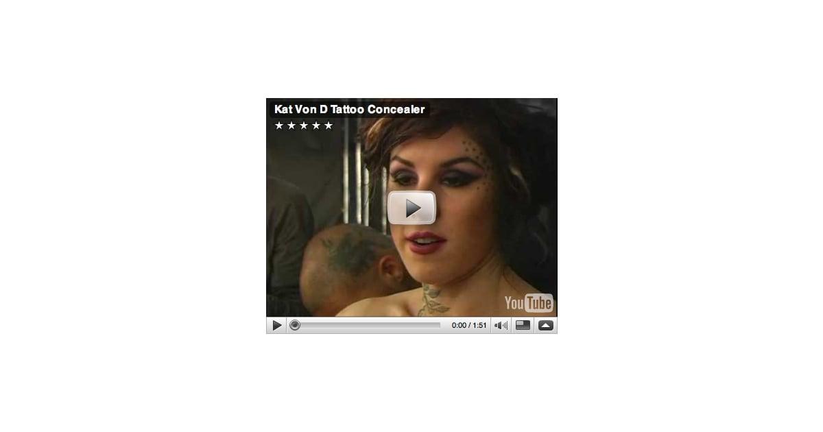 see kat von d tattoo free popsugar beauty. Black Bedroom Furniture Sets. Home Design Ideas