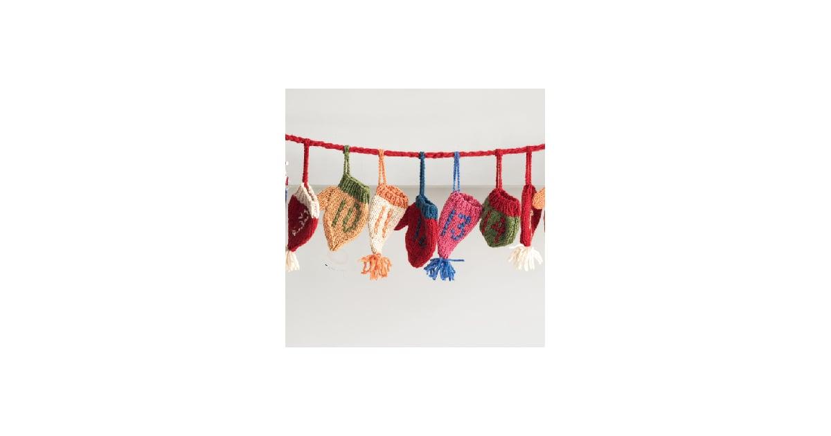 nice and new hat and mittens advent calendar popsugar home. Black Bedroom Furniture Sets. Home Design Ideas