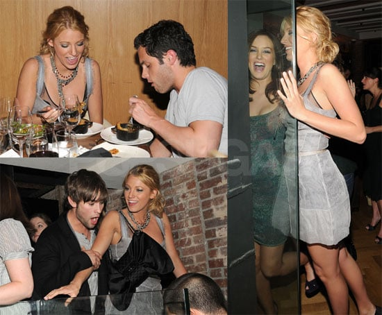 Blake Lively, Leighton Meester, Chace Crawford, Penn Bagdley Party in New York