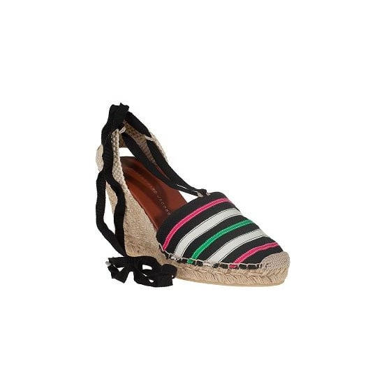 If I can bothered working a heel on holidays, it has to be a wedge. The cobblestone streets of Capri aren't kind of stilettos! Best bit? These gems are cheap-cheap (for Marc by Marc Jacobs)!. —Ali, fashion editor Wedges, approx $90, Marc by Marc Jacobs at Jildor