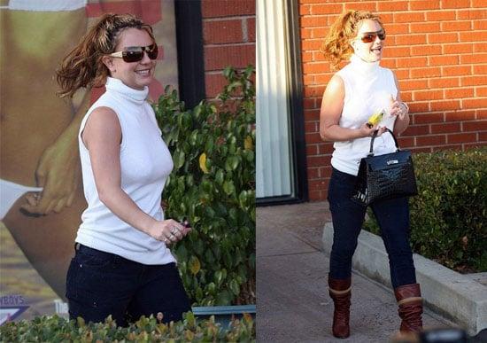 Britney's Whirlwind Weekend