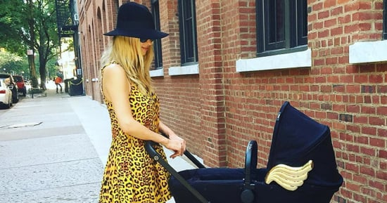 Nicky Hilton's $1,699 Stroller Comes Complete With Gold Angel Wings