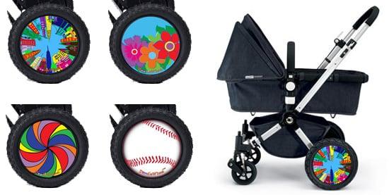 Doodle Wheels Stroller Hubcaps