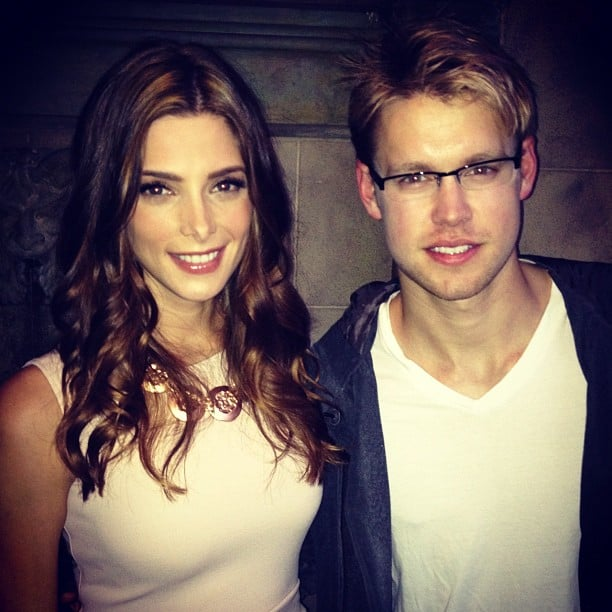 Ashley Greene celebrated her Nylon magazine cover with Chord Overstreet. Source: Instagram user nylonmag