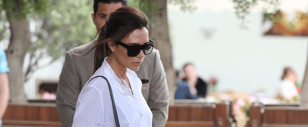 Victoria Beckham's About to School You in Casual-Chic Style