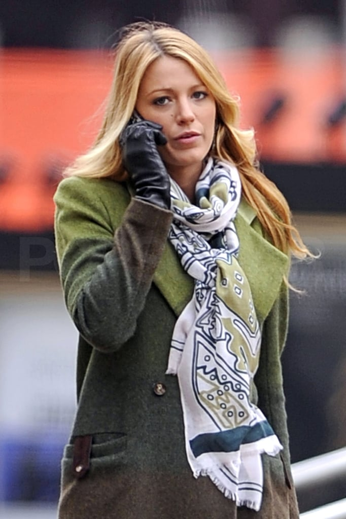 Blake Lively Keeps Getting Down to Work on Her Small-Screen Series