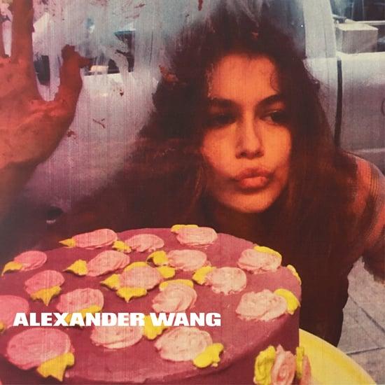 Kaia Gerber Alexander Wang Campaign Spring 2016