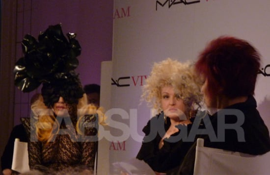 Lady Gaga and Cyndi Lauper for Mac Viva Glam Talk about HIV and AIDs