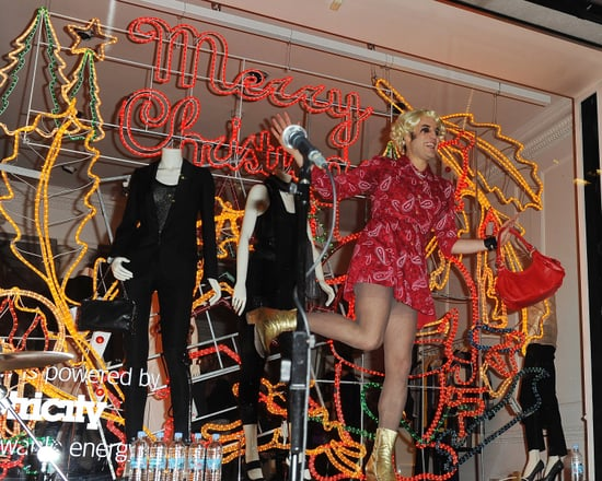 Stella McCartney and Friends Celebrate Holiday Windows in London