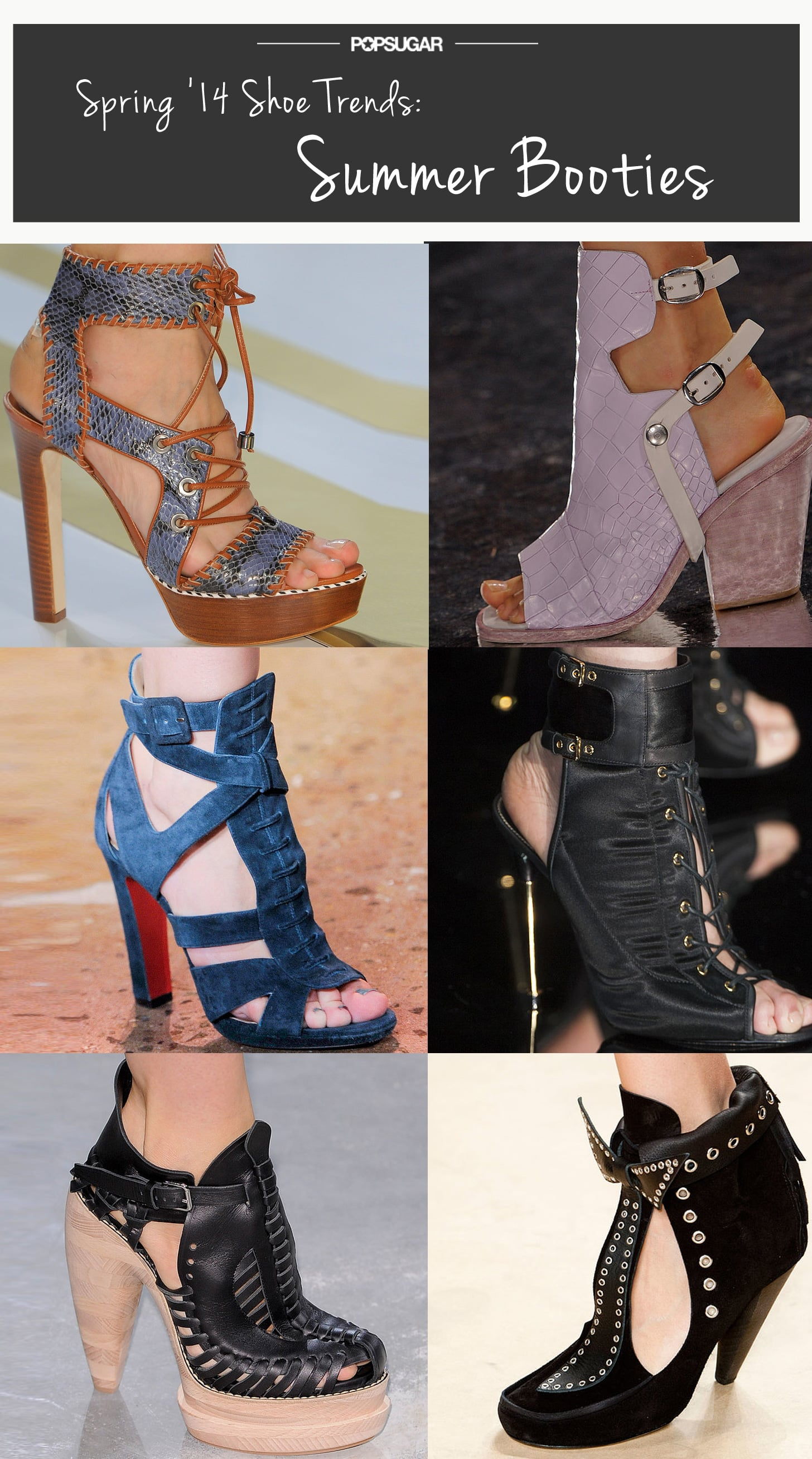 Spring Shoe Trend #3: Summer Booties