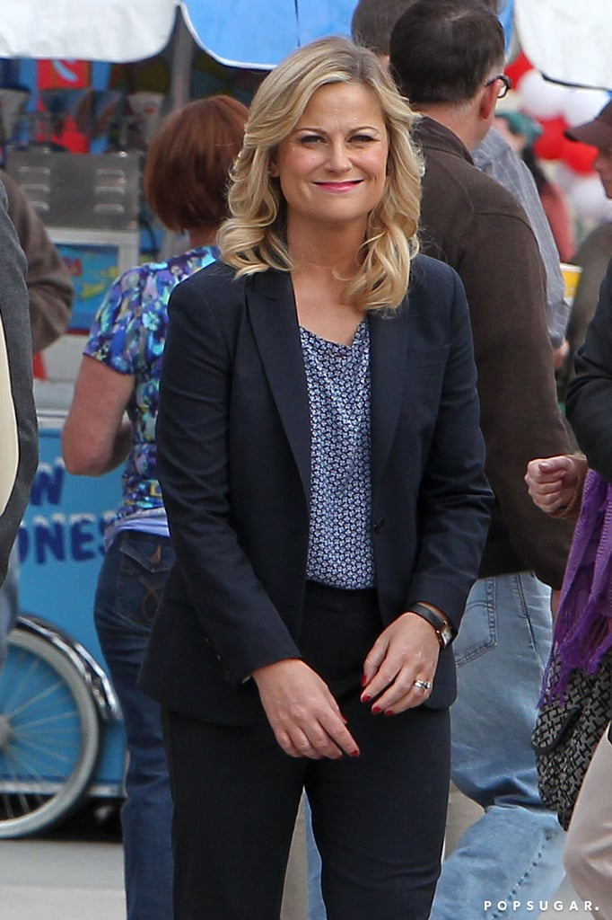 Amy Poehler Moves Past Taylor Swift's Remark by Getting Back to Work