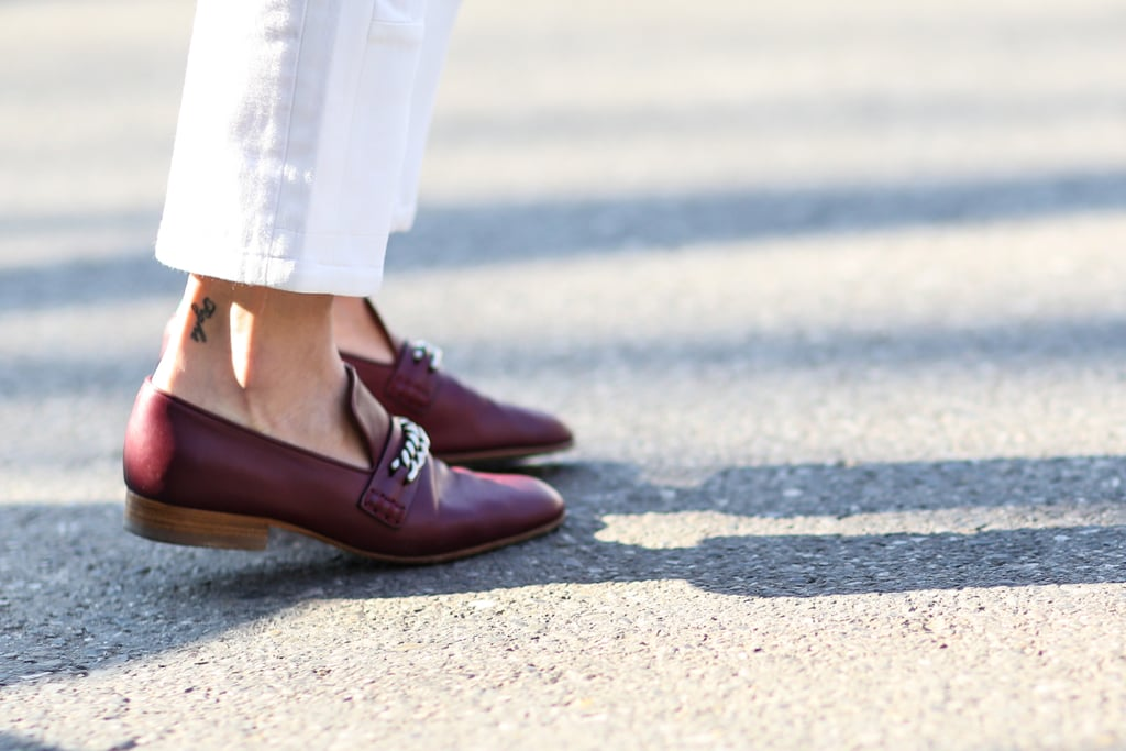Chains on these brogues make them even cooler.