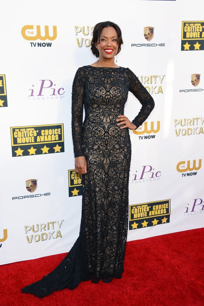 Aisha Tyler at the Critics' Choice Awards 2014
