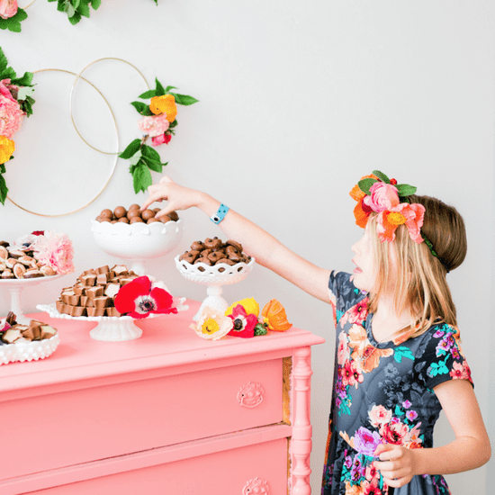 Flower Crown Party Theme For Mothers and Daughters