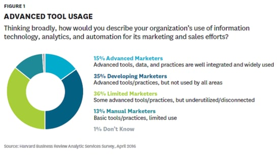 Only 15% of Companies Have Advanced Marketing Capabilities