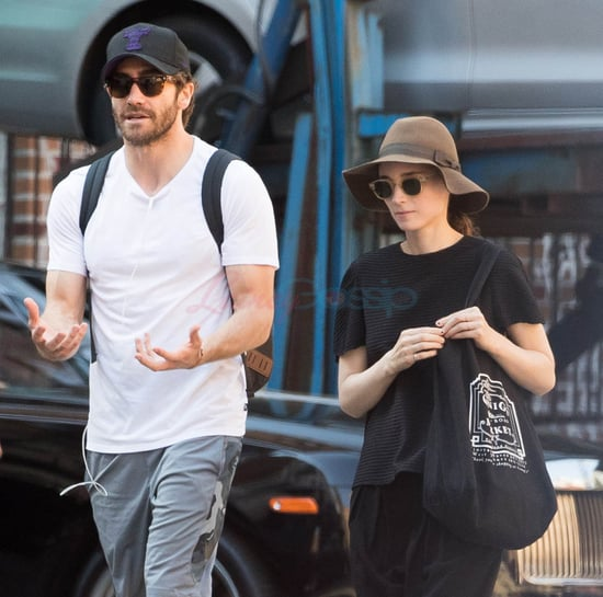 Jake Gyllenhaal and Rooney Mara photographed together in New York
