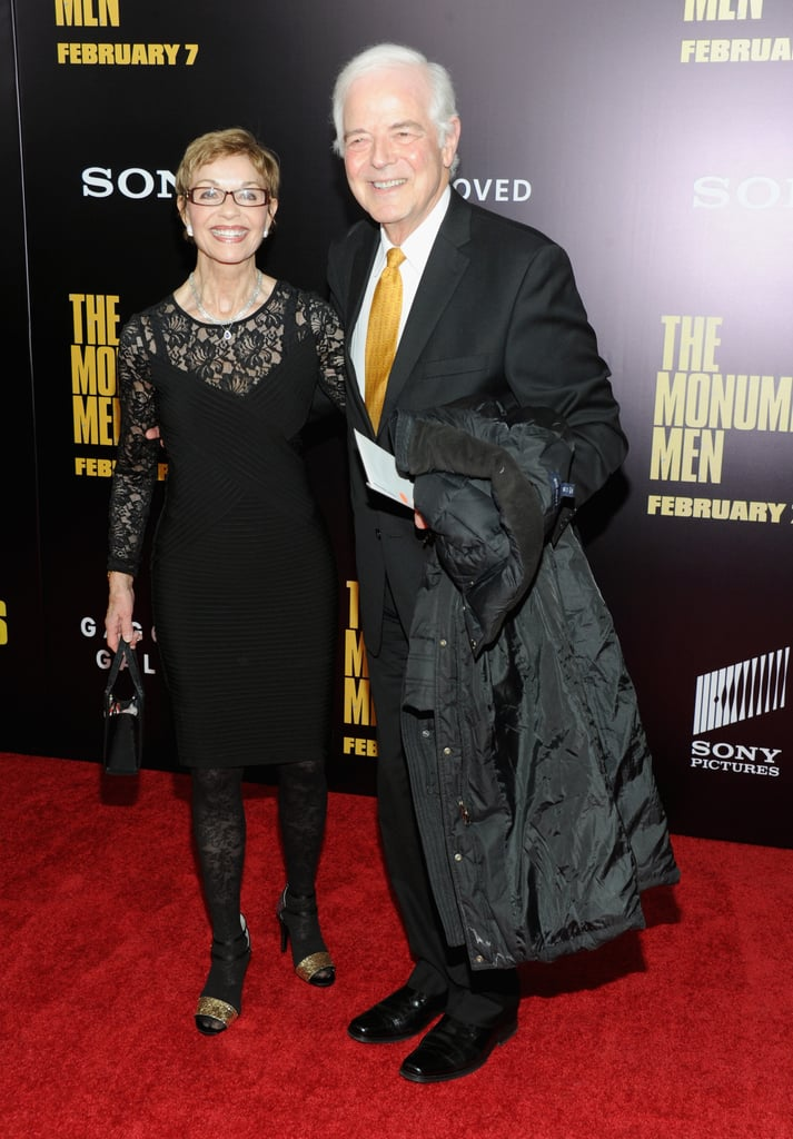 George Clooney's parents, Nina and Nick, strutted their stuff on the red carpet.