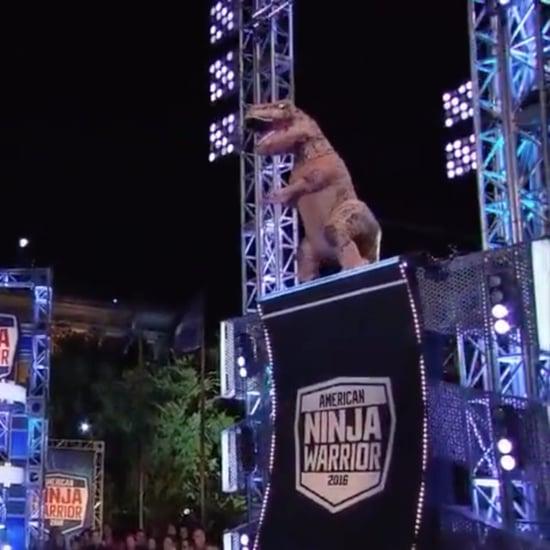 T-Rex on American Ninja Warrior