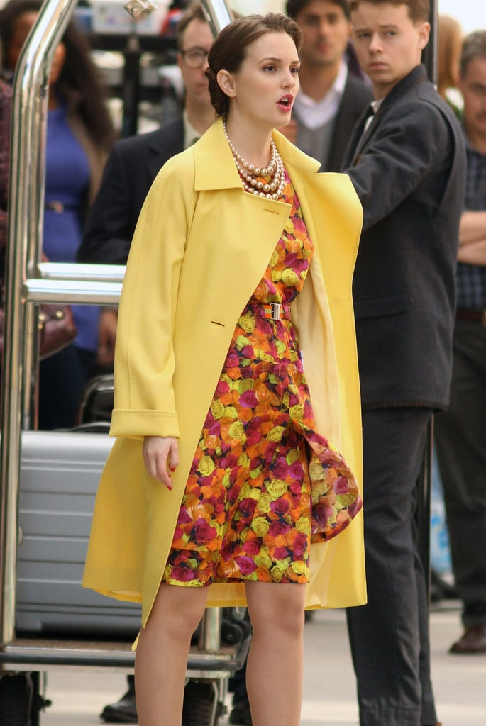 Gossip Girl's Leighton Meester and Ed Westwick Welcome Spring With Style