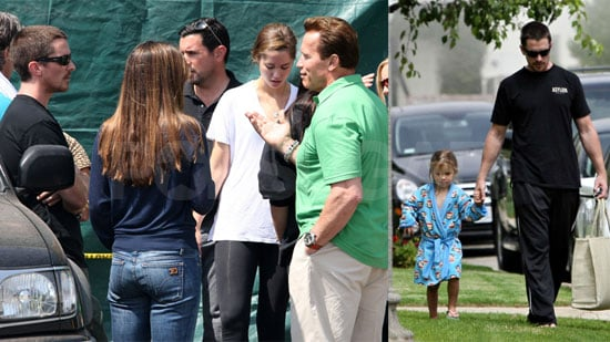 Photos of Christian Bale and Daughter Emmeline in LA