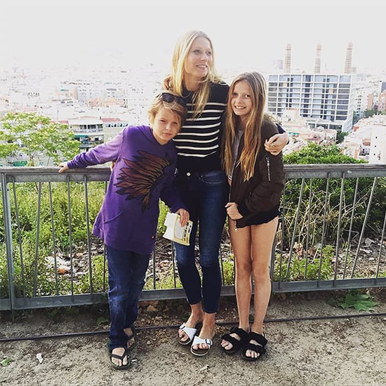 They're Getting So Big! Gwyneth Paltrow Shares Adorable Photo with Kids Apple and Moses
