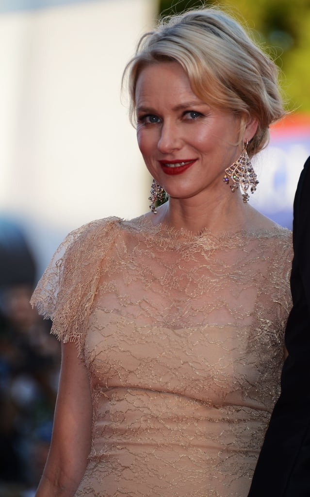Naomi Watts and Liev Schreiber Hold Hands During His Venice Premiere