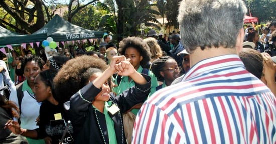 High-School Girls in South Africa Are Protesting for the Right to Wear Their Natural Hair