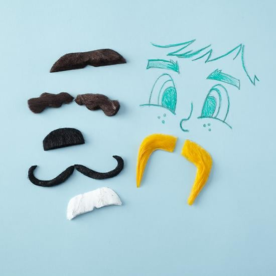 The Land of Nod Classic Mustache Kit
