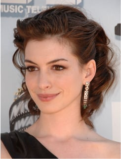 Anne Hathaway's Makeup at the 2008 MTV Movie Awards
