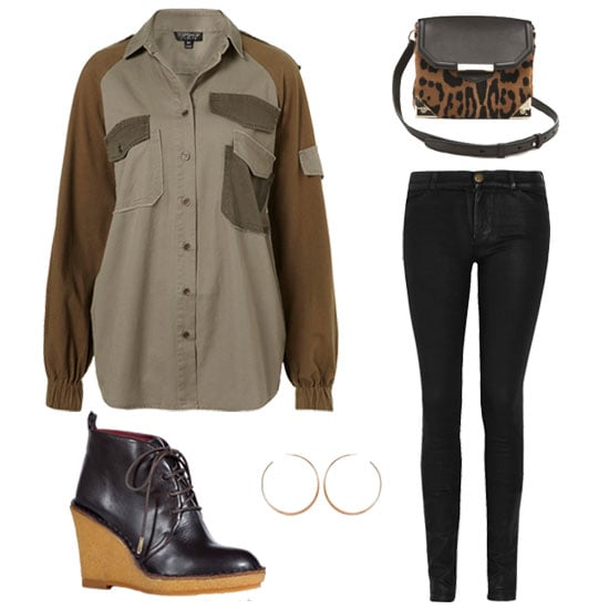 How to Wear the Military Trend | Fall 2012