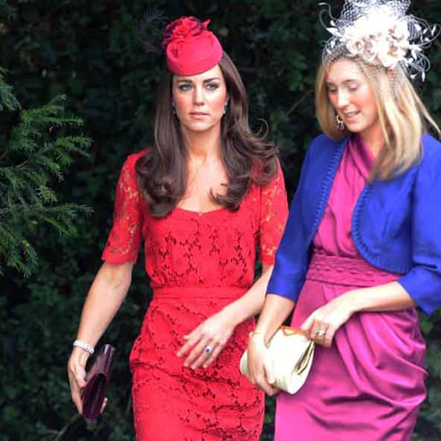 Kate Middleton Pictures at Wedding With William, Pipppa, and Alex Loudon