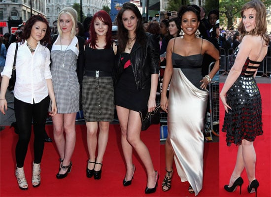 Photos Of Skins Cast At Tormented Premiere, Kaya Scodelario, Megan Prescott, Kathryn Prescott, Lily Loveless, April Pearson