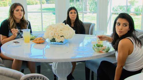 Kim Kardashian Reveals Major Details on Those 'Keeping Up With the Kardashians' Salads