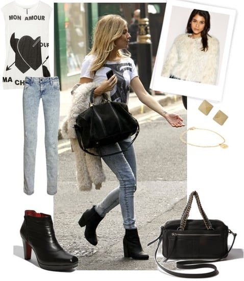 Pictures of Sienna Miller Street Style in London