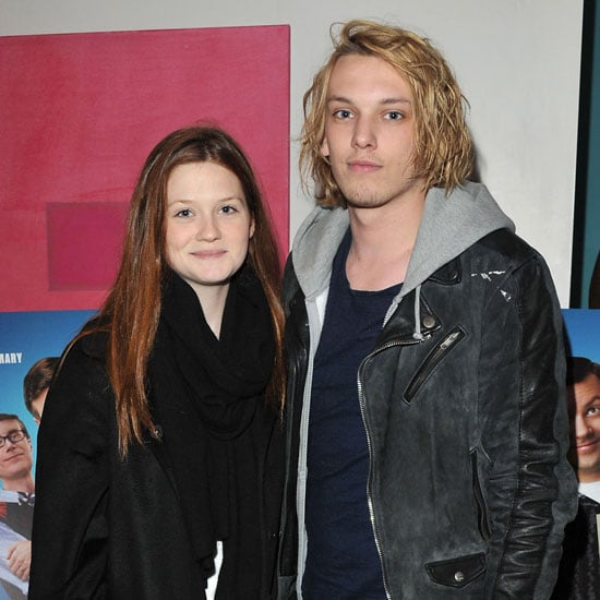 Pictures of Bonnie Wright and Jamie Campbell Bower at Hall Pass Screening