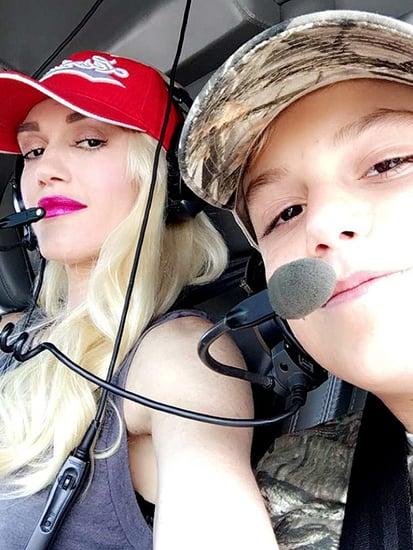Gwen Stefani Celebrates Son Kingston's 10th Birthday with Blake Shelton