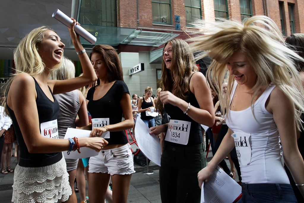 Jennifer Hawkins Takes the ANTM Audition Circuit to Sydney With Alex and Charlotte