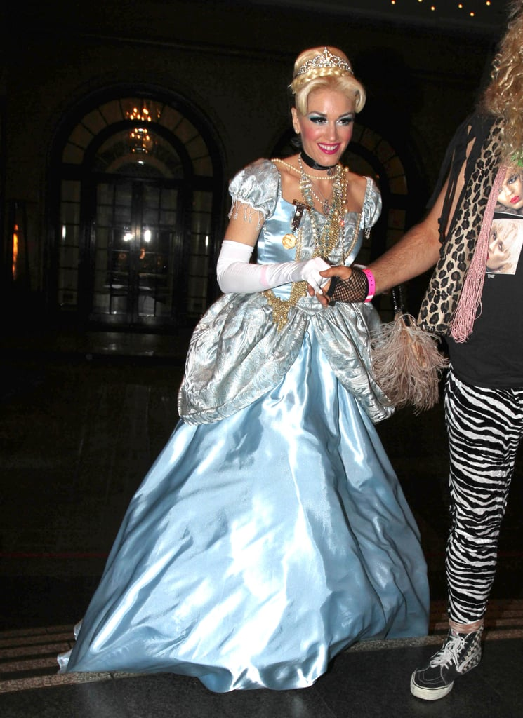 Gwen Stefani channeled Cinderella at an LA bash in 2011.