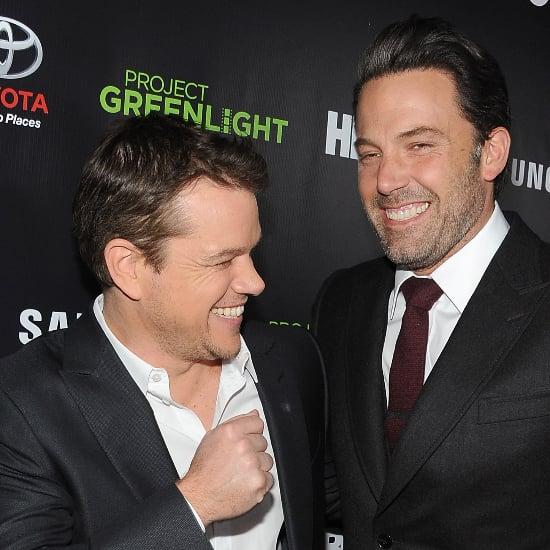 They're Back — Matt Damon and Ben Affleck Reunite on the Red Carpet