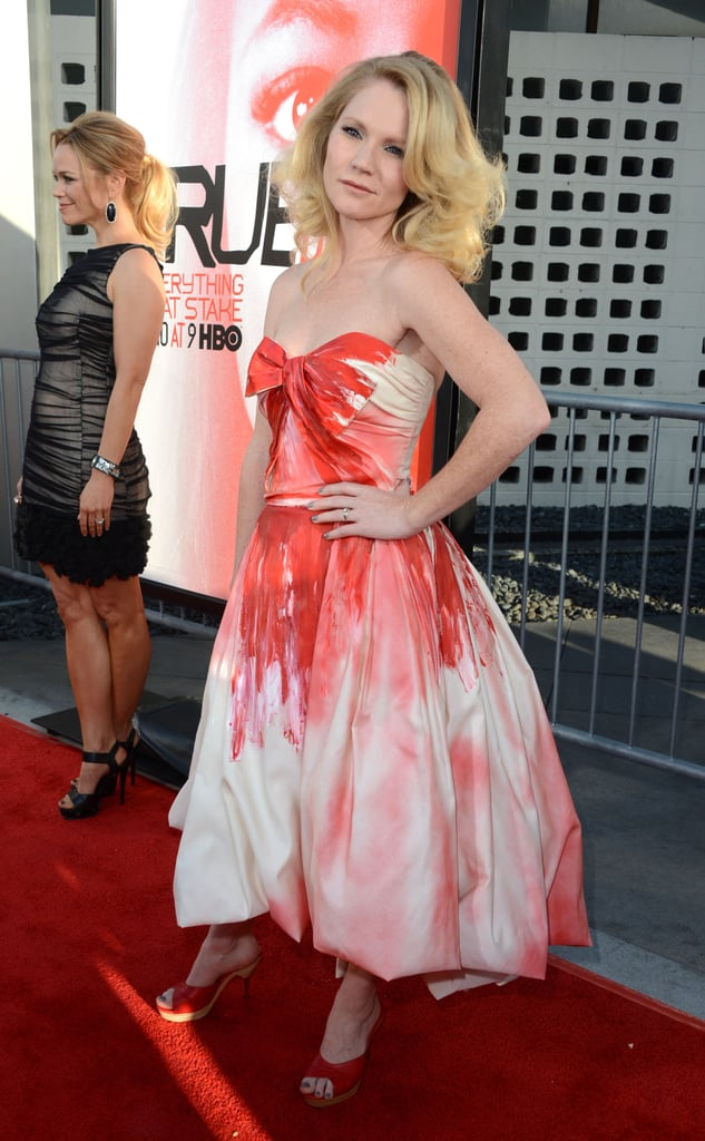 Mom-to-Be Anna Paquin Joins Her True Blood Leading Men For Their Season Premiere