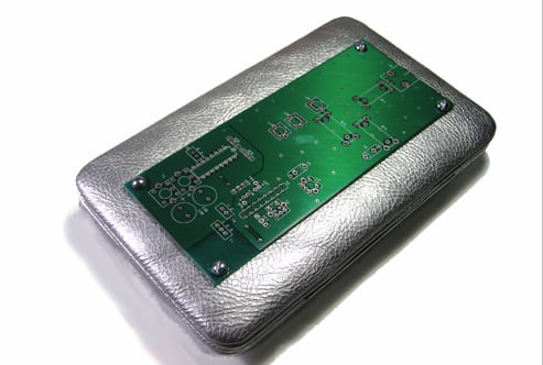 Circuit Board Clutch Purse