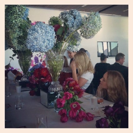 Beautiful blooms at the Jasmine Awards.