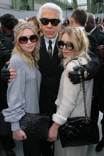 Karl Lagerfeld, Ashley Olsen, Mary Kate Olsen, Influences, Book