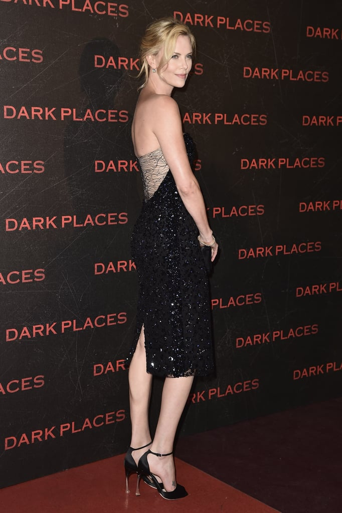 Charlize brought sexy back at the premiere of Dark Places in Paris.