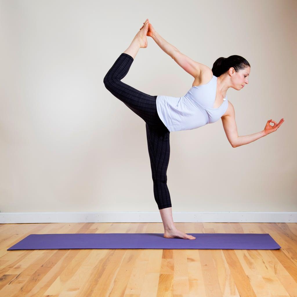 Yoga Sequence For Stronger Legs Popsugar Fitness